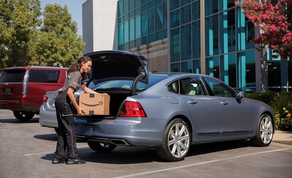 - 5 4amazon in car delivery 2 - In-Car Deliveries with AI Self-Driving Cars
